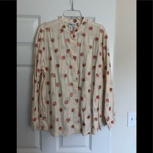 Coldwater Creek Button Blouse